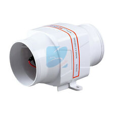 "4"" SEAFLO Marine Inline Bilge Blower Fan 12v Boat Galley Engine Ventilation"
