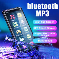 3.5'' 8GB Portable HiFi bluetooth5.0 Ultrathin Touch Screen Music MP3 MP4  *