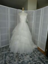 wedding gown size 10 color ivory designer Mori Lee