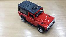 Rojo Jeep Modelo Coche Modelo De Juguete Coche de metal regalo ABIERTO PUERTAS