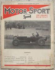 MOTOR SPORT Magazine Nov 1942 Vol 18 No 11 RR Phantom I
