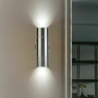 2 er SET Strahler UP DOWN einschl 2x2 LED außen innen Edelstahl Leuchte Lampe