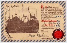 MÜNCHNER OKTOBERFEST / MUNICH Pschorr & Bürger Bräu Bier Beer * Vintage 1900s PC