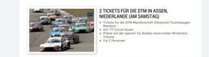 2 Tickets DTM Assen, (Niederlande) 18.09.2021