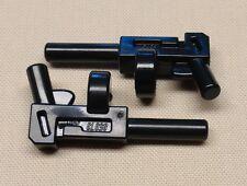 x2 NEW Lego ARMY Gun Pistol BATMAN Minifig Weapons Machine Gun Lot