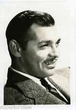 Actor Clark Gable Hollywood Portrait Great Lighting Big Smile Classic Gable LOOK