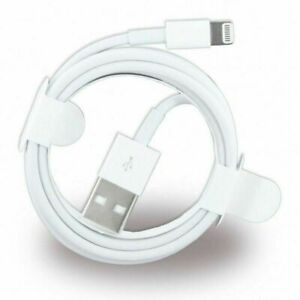 Genuine USB Data Charger Lead Cable For iPhone 12 11 X 6 5 7 8+ SE 2020 5s iPad