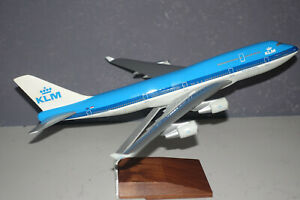 PacMin Pacific Miniatures 1/200 Boeing 747-400 Aircraft Model KLM New