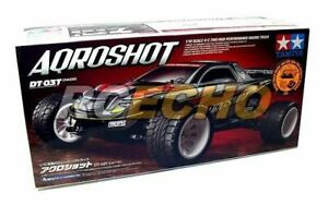Tamiya EP RC Car 1/10 AQROSHOT DT03T Chassis 2WD Racing Truck & ESC 58610