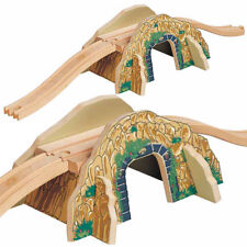 Mountain Overpass for Wooden Railway Train Set 50448 - Brio Bigjigs Compatible