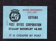 Guyana 1982 $6 Scout Movement 1907-1982 Sc 453/66b,  SG 895/906   Booklet SB22