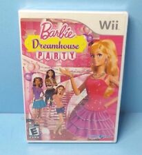 Barbie: Dreamhouse Party WII New Nintendo Wii BRAND NEW FACTORY SEALED
