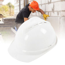 Protective Helmet Hard Cap Safety Hat Breathable Workplace Safety Supply White