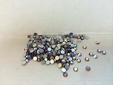 Topaz AB flat-back DS Co crystal rhinestones 4mm round 16ss no hole lot of 288