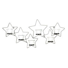 Gallery of Light Beautiful Iron Cutout Star Wall Sconce