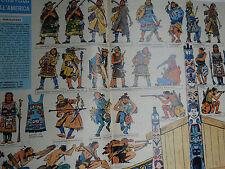 corriere dei piccoli anni '60 soldatini indiani nord ovest  disegni  HUGO PRATT