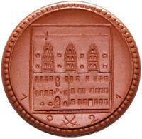 Meissen - Münze - 2 Mark 1921 - Meissen - Porzellan