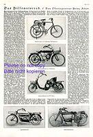 Hilfsmotorrad 1922 1 S Bericht 5 Abb Zetge DKW Cockerell Motorrad Leichtmotorrad