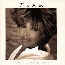 + CD  incelofanato What's Love Got To Do With It tina tarner Colonna sonora