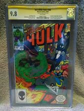 The Incredible Hulk #300 CGC 9.8 Signed by Stan Lee 1984 Marvel Black Spider-Man