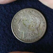 1921 - S Morgan silver dollar. Unmounted Circulated Ungraded