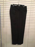 Jones New York Women's Black Straight Leg Career Dress Pants Size 4 Stretch