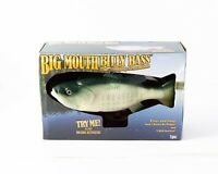 Big Mouth Billy Bass, The Singing Sensation Fish Motion Activated In Box Gemmy