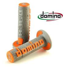 Domino A360 Off Road Comfort Grips Grey / Orange KTM 690 Supermoto / R