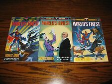 DC Comics - WORLD'S FINEST Batman/Superman 1 - 3 Complete Set!!  Glossy VF 1990