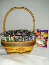 Longaberger 1998 Small Easter Baster w/Easter Egg Liner and Protector