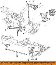 Dodge CHRYSLER OEM 97-04 Dakota Front Suspension-Hub 52069361AC