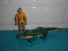 17.9.3.3 Lot 2 Figurines Disney heroes Famosa Tarzan crocodile Clayton
