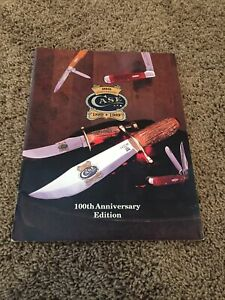 CASE XX Knife Catalog, Product Guide, Pocket 1989. James Parker Stag Bowie