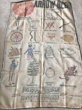 Vintage High Proof Arrow Beer Bar Towel Sack Bag Man Cave
