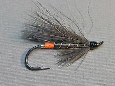 Black Bear Orange Butt Atlantic Salmon Flies - 6 Fly MULTI-PACK - Sizes 4, 6, 8