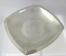 Large German Art Nouveau Or Jugendstil Silver Plated Maiden & Grapes Bowl