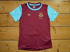 WEST HAM UNITED SHIRT UPTON PARK  SOCCER JERSEY HAMMERS THE IRONS age 10-11 yrs