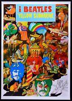 Manifesto Yellow Submarine The Beatles Lennon Ringo Star George Harrison P11