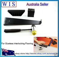 Laminate Wood Flooring Installation Kit Wooden Floor Fitting Tool w Spacers86114