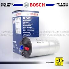 BMW 5 SERIES (E39) 525 d 2000 - 2003 GENUINE BOSCH FUEL FILTER N6451