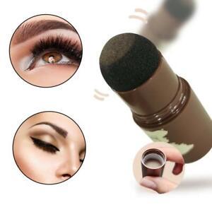 Eyebrow Stamp Makeup Kit Complete Shaping Powder Wax Pencil Brush Waterproof NEW