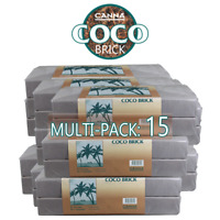 Canna Coco Brick 40L Expanded - Soil Medium Substra RHP 40 Liters - 1-15 packs