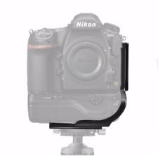 L-Bracket camera Battery Quick Release QR Plate Grip Holder For Nikon D850