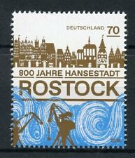 Germany 2018 MNH Rostock Hansestadt City 800 Yrs 1v Set Architecture Stamps