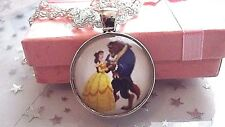 Princess Belle Beauty And The Beast 18 Inch Necklace Strong Gift Box Birthday
