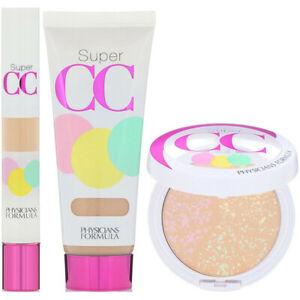 Physicians Formula Super CC Kit Concealer Powder Cream Light Medium 6392 C