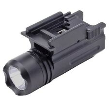 Hunting Tactical CREE Led Flashlight for Glock 17 19 20 21 22 23 with 20mm Mount