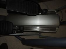 Precor 556i elliptical lift ramp with stainless wheel tracks