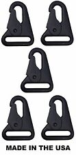 """X5 HK H&K Style 1"""" Sling Clip Spring Gate Quick Release Snap Hook USA MADE"""