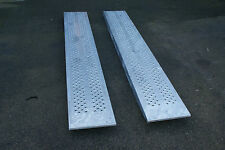 IFOR WILLIAMS 8FT STEEL SKIDS / LOADING RAMPS